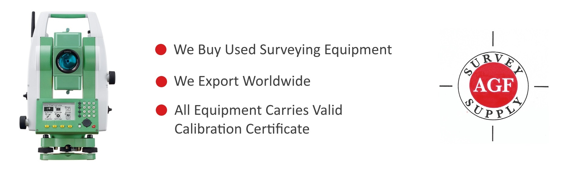Used Surveying equipment bought and sold