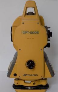 Topcon Total Station GPT6005 Not Working